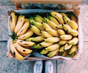 banana, beach, and beautiful image