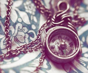 clock, necklace, and nature image