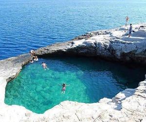Greece, pool, and kavala image