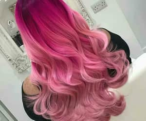 hair, art, and colours image