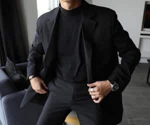 black, fashion, and boy image