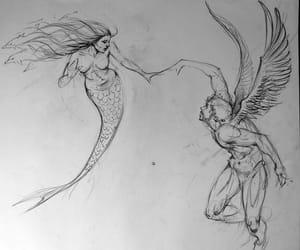 angel, eternal, and art image