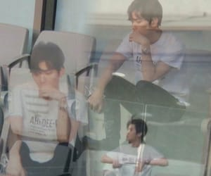 exo, baek, and funny image