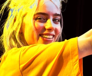 yellow, billie eilish, and billieeilish image