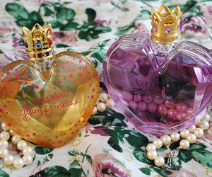perfume, Vera Wang, and princess image