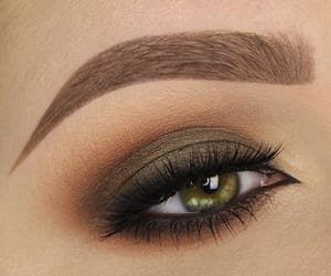 brown, olive, and make up image