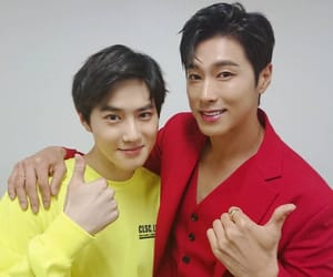 exo, suho, and tvxq image