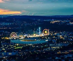 funfair, germany, and Stuttgart image