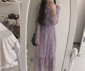 dress, pastel aesthetic, and girl image