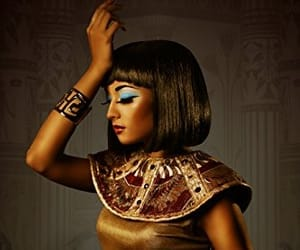 beautiful, blue, and cleopatra image