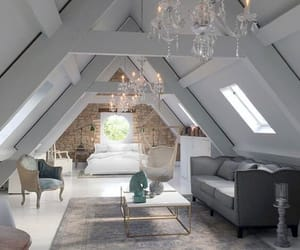 attic, cool, and modern image