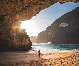 nature, beach, and vacation image