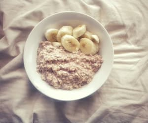 banana, breakfast, and oatmeal image