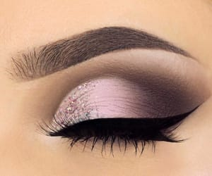 brown, glitter, and pink image