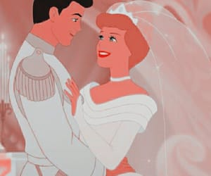 cinderella, disney, and kiss image