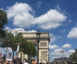 blue, paris, and french image