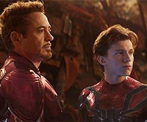 Avengers, iron man, and rdj image