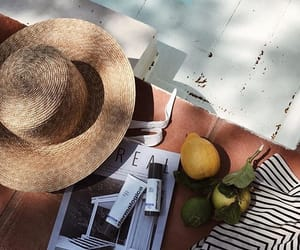 accessories, hat, and lemons image