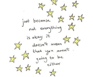 quotes and stars image