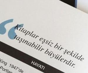 Stephen King, alıntı, and türkçe sözler image
