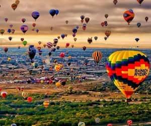 beauty and hotair balloon image