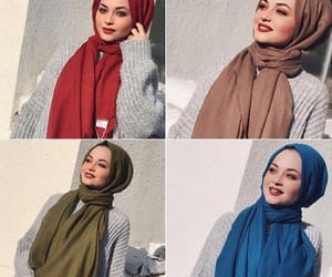 arabic, color, and hijab image