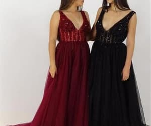 fashion, prom gown, and prom dress image