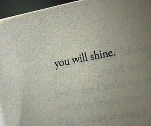 book, shine, and text image