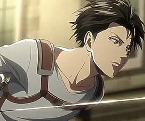 anime, gif, and attack on titan image