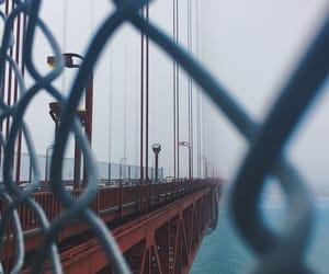 aesthetic, goldengatebridge, and bridge image
