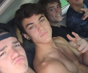 shirtless, jack dail, and grayson dolan image