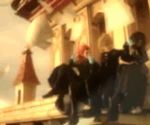 axel, gif, and kingdomhearts image