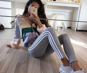 fashion, adidas, and girl image