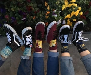vans, flowers, and alternative image