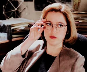 aliens, dana scully, and x-files image