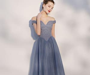 lace prom dress, gorgeous prom dresses, and prom dresses 2018 image