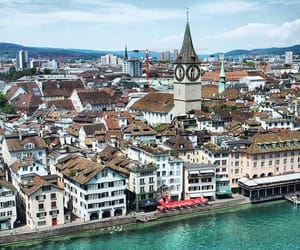 aesthetic, zurich, and architecture image