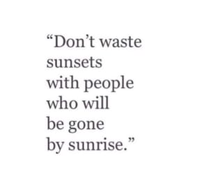 quotes, sunsets, and love image