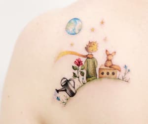 books, le petit prince, and planets image