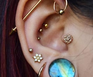 piercing, accessories, and style image