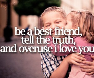 love, quote, and best friends image