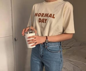 aesthetic, coffee, and fashion image