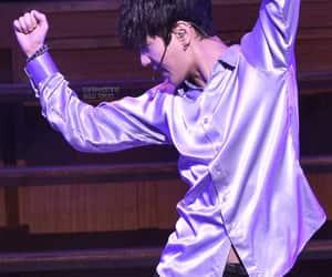 kpop, yesung, and silk shirt image