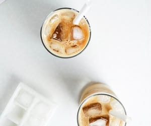 coffee, summer, and drinks image