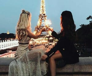 paris, friends, and friendship image