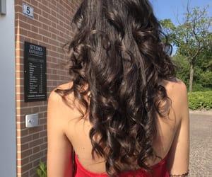 fashion, haircut, and long hair image