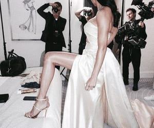 fashion, Adriana Lima, and dress image