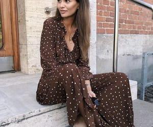 beautiful, dots, and dress image