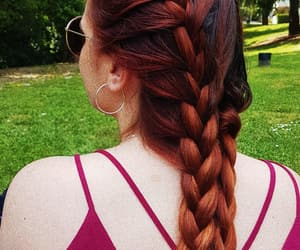 beauty, casual, and braids image