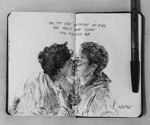 kiss, oliver, and call me by your name image